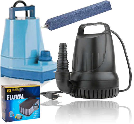Air Pumps & water systems